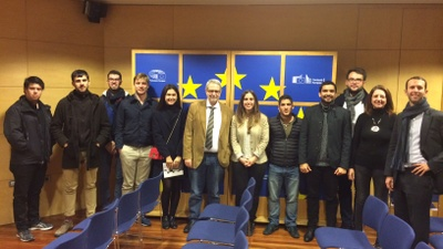 "Concluding session of the ""EU Political process"" class"