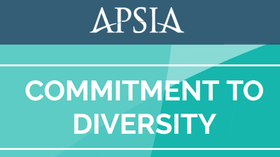 APSIA Commitment to Diversity