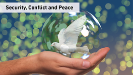 Security, Conflict and Peace
