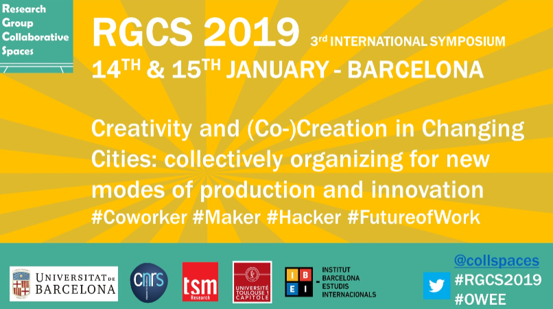 3rd RGCS Symposium. Creativity and (Co-)Creation in Changing Cities