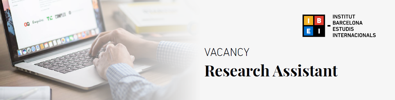 Vacancy: Research Assistant