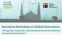 Call for Papers: Barcelona Workshop on Global Governance 2020