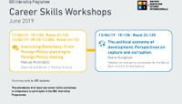 Career Skills Workshops 2018-19 (June)