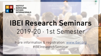IBEI Research Seminars 2019-20: 1st Semester