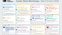 Career Skills Workshops 2019-20 (March-April)