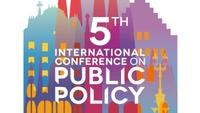 Call for papers: 5th International Conference on Public Policy (ICPP5)