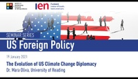 The Evolution of US Climate Change Diplomacy - Dr. Mara Oliva, University of Reading