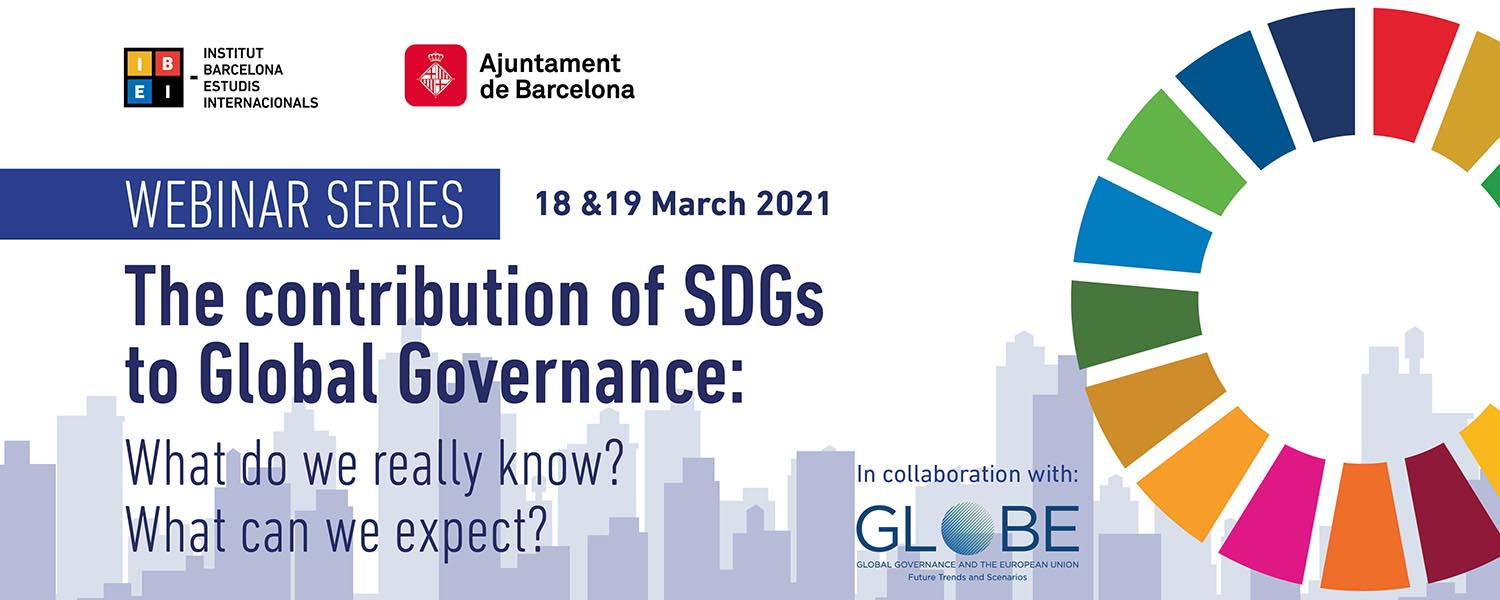 Capçalera_Webinar Series_The contribution of SDGs to Global Governance