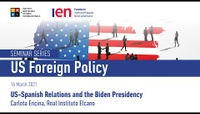 US-Spanish Relations and the Biden Presidency - Dr. Carlota Encina, Real Instituto Elcano