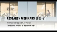 The Global Politics of Bottled Water - Raul Pacheco-Vega (FLACSO Mexico)