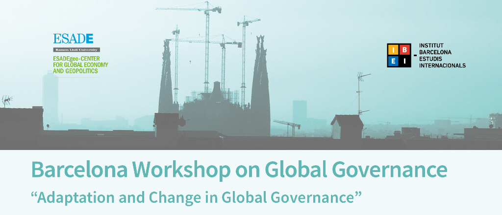 Barcelona Workshop on Global Governance 2016