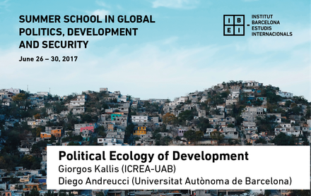 Political Ecology of Development