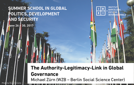 The Authority-Legitimacy-Link in Global Governance
