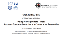 Call for Papers: Policy-Making in Hard Times